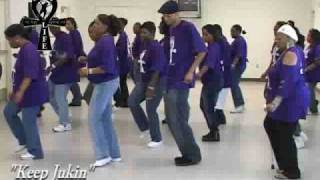 "Step / Line Dance - ""Keep Jukin"""