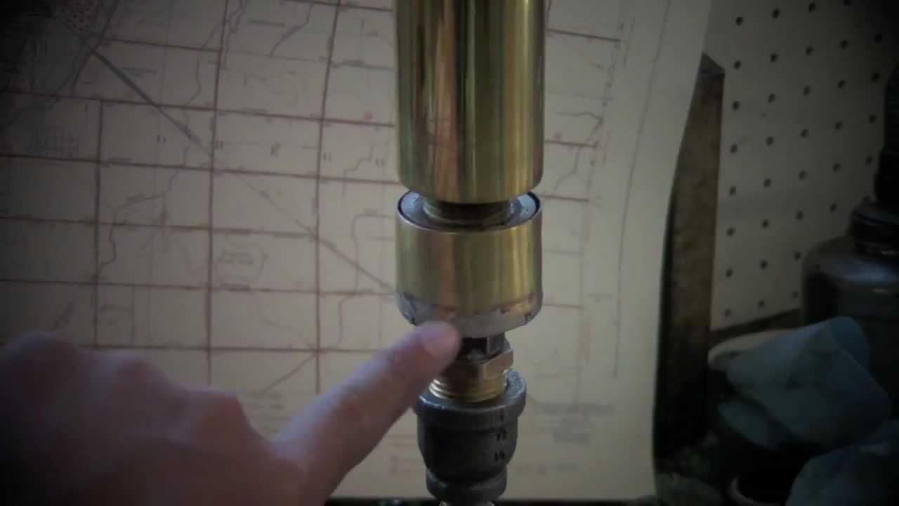 Homemade Brass Steam Whistle