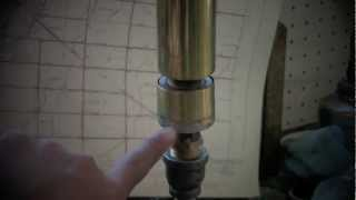 Homemade Brass Steam Whistle