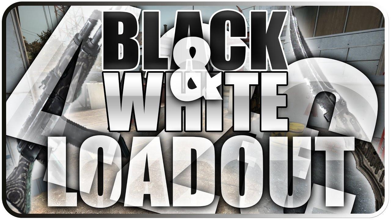 csgo black white loadout komplett schwarz wei es. Black Bedroom Furniture Sets. Home Design Ideas