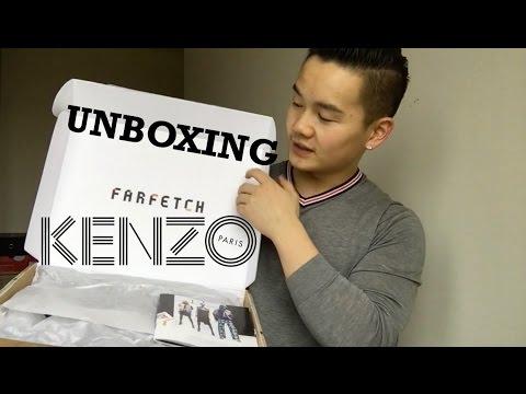 UNBOXING | FARFETCH & KENZO | Danny Yu