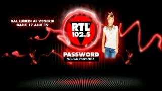 Password del 29.09.2008, inizio con qualche istante di ritardo dovuto all'anticipo della messa in onda jingle intro trasmissione radiovisione , tan...