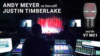 The V7 MC1: On Tour With Justin Timberlake