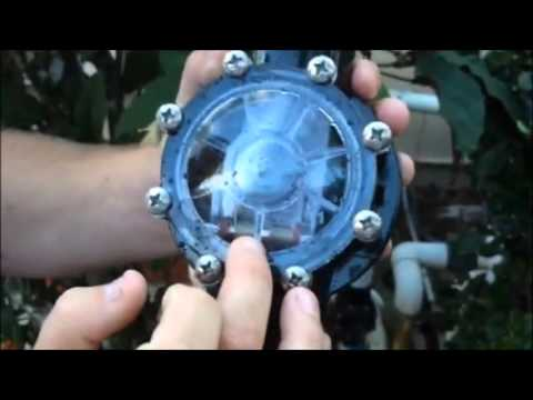 How To Replace Check Valve For Your Swimming Pool Youtube
