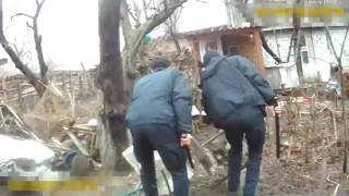 Полиция Черкасс спасают мужчину от собаки
