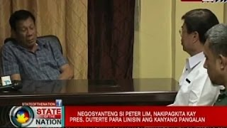SONA: Larawan nina Pres. Duterte at Peter Lim na kuha raw sa isang kasal, usap-usapan sa internet