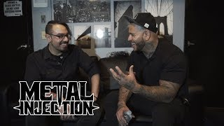 BAD WOLVES' Tommy Vext Goes In-Depth on His Past, A Near Death Experience & Sobriety