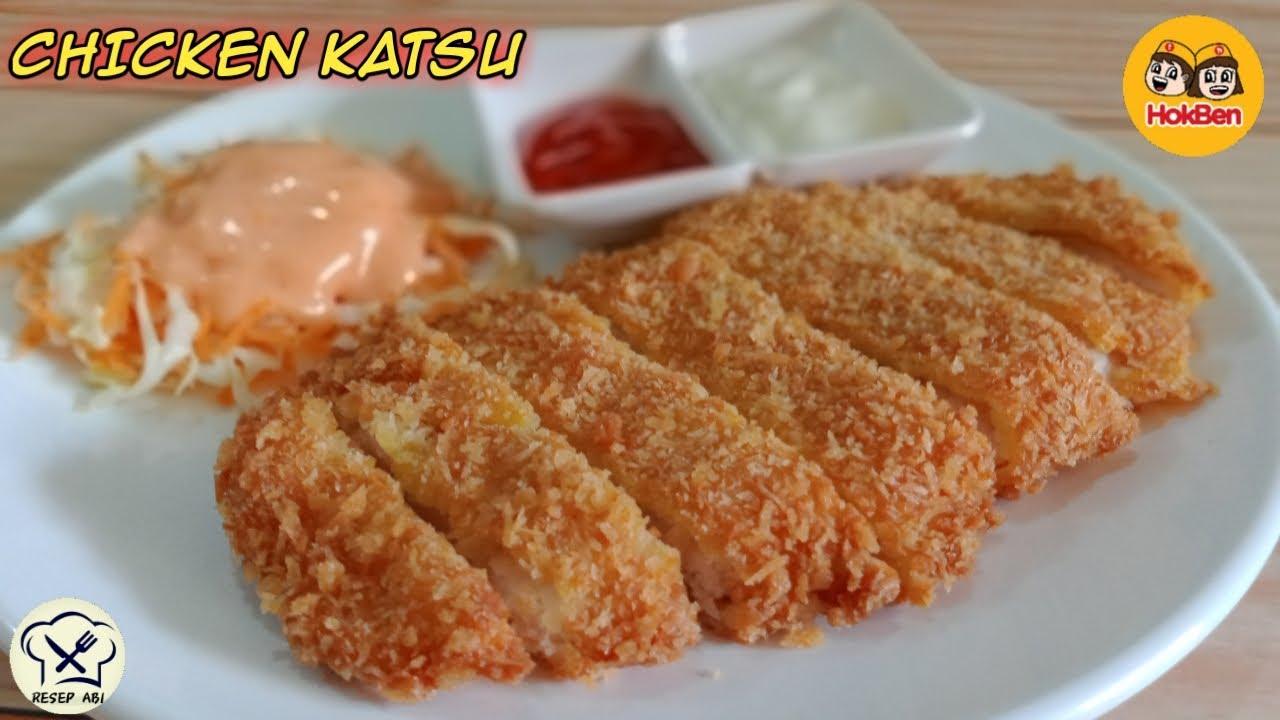 Resep Chicken Katsu Ala Hokben Bikin Dirumah Saja Rasanya Mirip Banget Youtube Makanan Dan Minuman Resep Resep Makanan