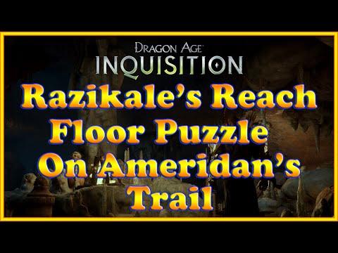Dragon Age: Inquisition - On Ameridan's Trail Puzzle - Razikale's Reach