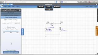 Electrocinétique : prise en main du simulateur en ligne de circuit électriques docircuits.com