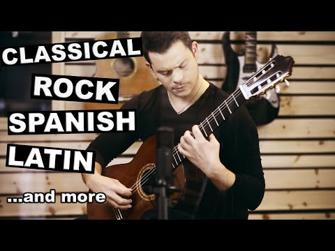 Ultimate Guitar Medley (from Baroque to Rock) - Thomas Valeur