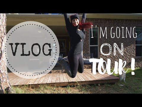 AUTHOR VLOG | I'M GOING ON TOUR!!!
