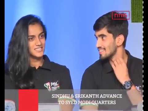 Sindhu & Srikanth Advance To Syed Modi Quarters