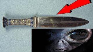 El CUCHILLO de Tutankamon es Extraterrestre ¡¡¡