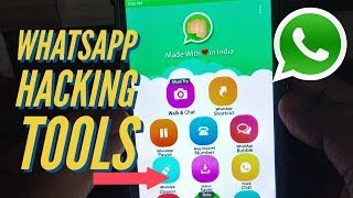 How to whatsapp hacking | 11 best tools in this application in 2018