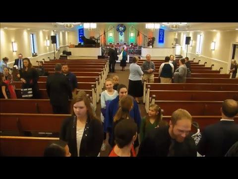 Calvary Bible Wesleyan Church Service - 12/03/2017 AM