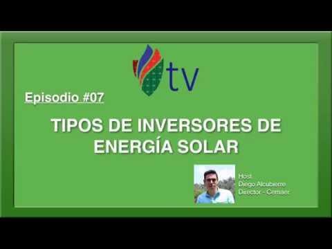 Tipos de Inversores de Energía Solar - CEMAER Tv - Episodio #07