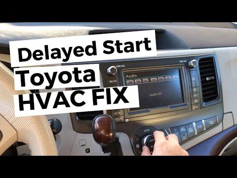 Toyota Climate Control Heater AC Problem Repair DIY Fix