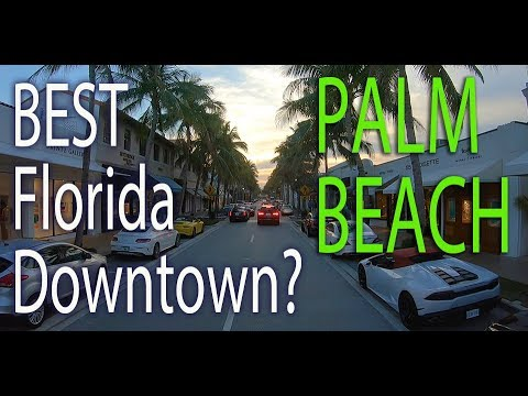 Palm Beach: Florida. A Driving Tour of the 4th Richest Zipcode in America including Mar-a-Lago
