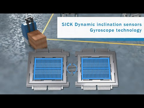 Dynamic Inclination Sensors From SICK: Gyroscope Technology | SICK AG