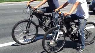 Motorized Bicycle Racing
