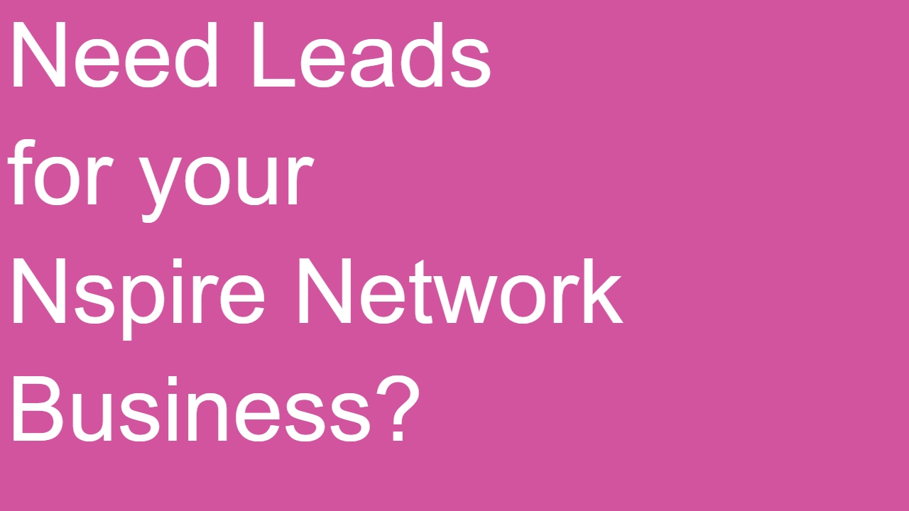 How To Get Leads For Nspire Network