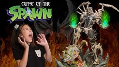 CURSE OF THE SPAWN TERRORIZES FAMILY!!! Giant Scary Awesome Super Rare Custom Spawn Statue!