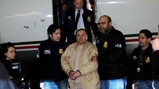 "Notorious drug kingpin ""El Chapo"" lands in N.Y."