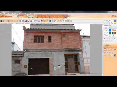 On Site Photo: Restitución fotogramétrica de fachadas