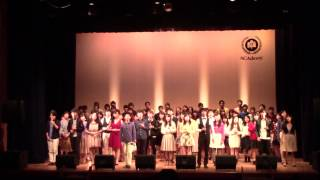 """ED全体合唱 「One Step」 - The First Cry Winter Live """"ACAdemy"""""""