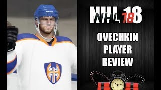 NHL 18 BASE OVECHKIN REVIEW HUT
