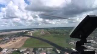 SAN FERNANDO DE APURE SVSR Landing Cessna 182 YV1795
