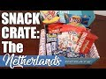 Americans Try Dutch Snacks | Snack Crate Unboxing | The Netherlands
