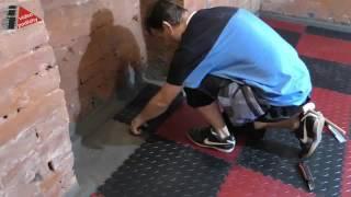 Podlaha do sklepa i do kotelny - dlažba Fortelock