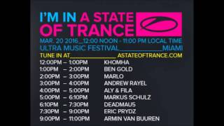 Eric Prydz - A State Of Trance 750 Miami (20.03.2016), Ultra Music Festival 2016