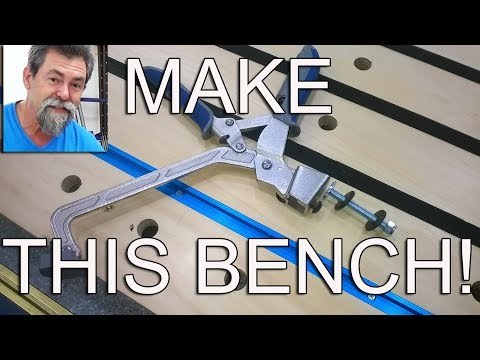 Build this Festool mft style portable bench for under $150 Dave Stanton woodworking workbench