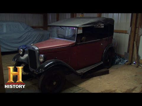 American Pickers: Picking A Man Cave Of Rare Cars (Season 12) | History