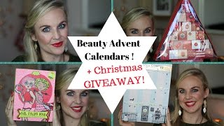 2016 Beauty advent calendar unboxing & MASSIVE GIVEAWAY