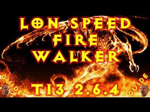 Diablo 3 LoN Speed Fire Walker T13 Witch Doctor Build 2.6.4