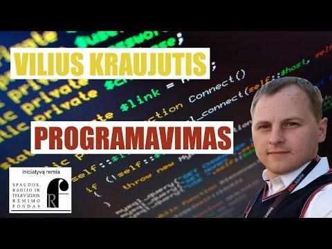 Vilius Kraujutis - Programavimas