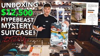 Unboxing A $12,500 Mystery Hypebeast Suitcase!