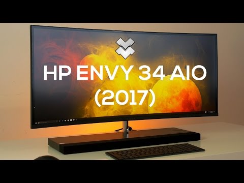 HP Envy 34 Curved All-in-One (2017) Review - The Best All in One PC!?