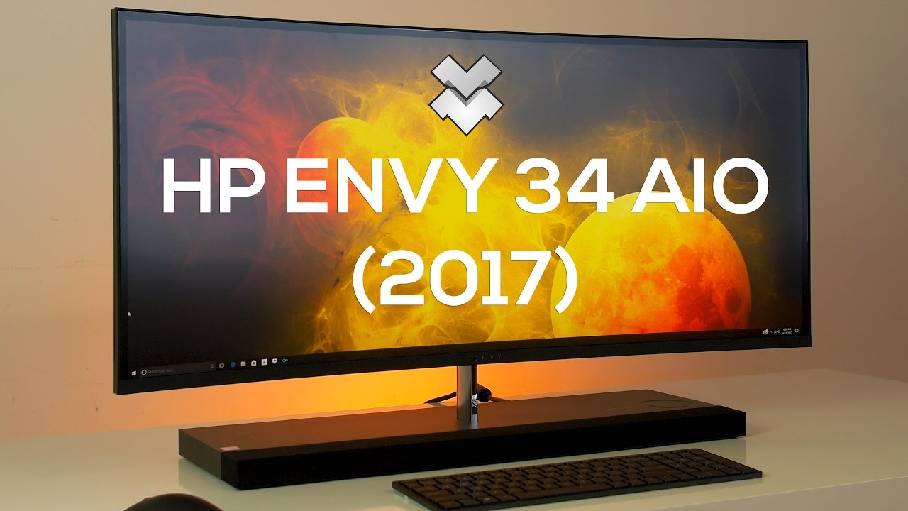 hp envy 34 curved all in one 2017 review the best all in one pc youtube. Black Bedroom Furniture Sets. Home Design Ideas