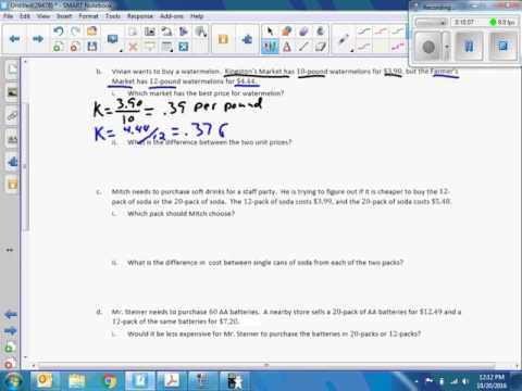 Math 6 Module 1 Lesson 20 Video