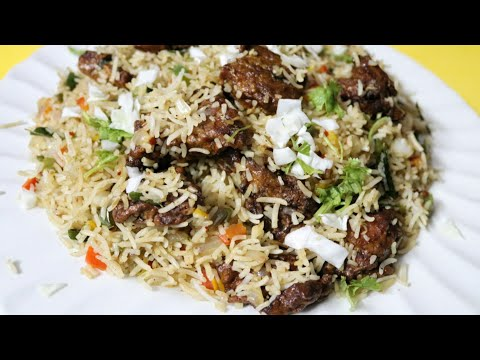 Fried Rice Made With Fish Fillets || Tasty Chinese Fried Rice At Home