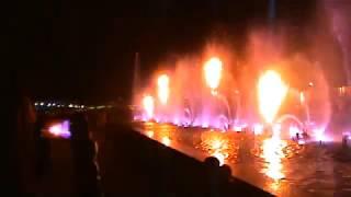 Сочи. Адлер. Светомузыкальный фонтан. (10.10.2018 г.)