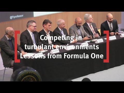 Competing in Turbulent Environments -  Lessons From Formula One 2016