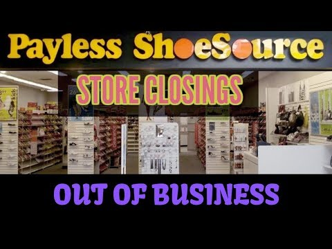 Christie James - Payless ShoeSource Is Closing Up Shop