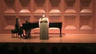 Hark! The Echoing Air, Stephanie Freeman, Senior Recital .wmv