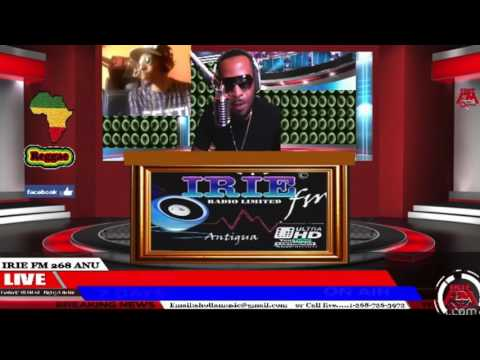 SOSICK LIVE INTERVIEW WITH DJ ROUNDHERE ON IRIE FM (ANTIGUA)